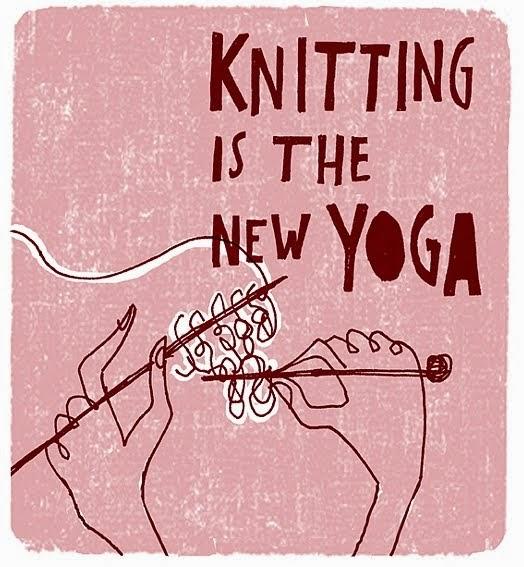 #knittingisthenewyoga