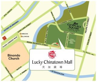 lucky chinatown mall map