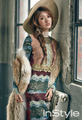 Jung So Min - InStyle December 2015