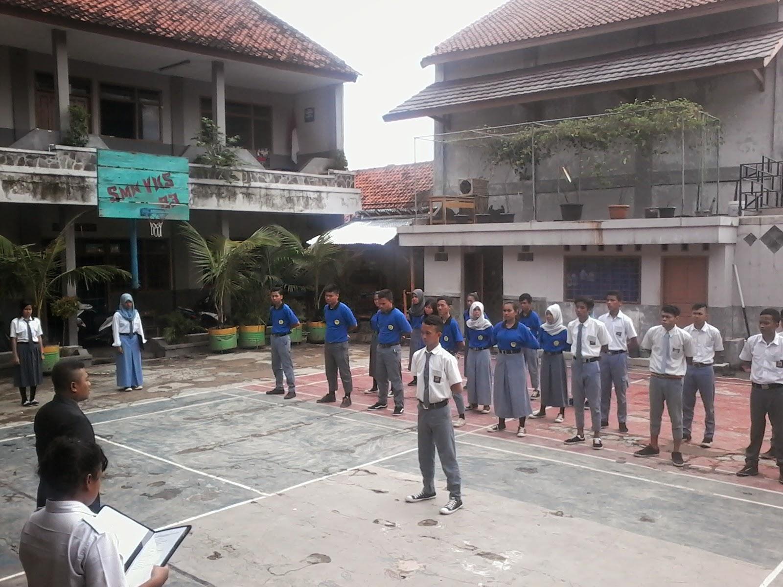 Upacara Penutupan LDKS SMK Prabu Sakti 2 Purwakarta Tahun 2014