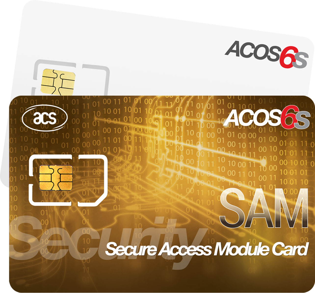 ACOS6 Secure Access Module Microprocessor Smart Cards
