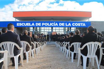 Partido de La Costa: Se inauguró la Escuela de Policía Juan Vucetich