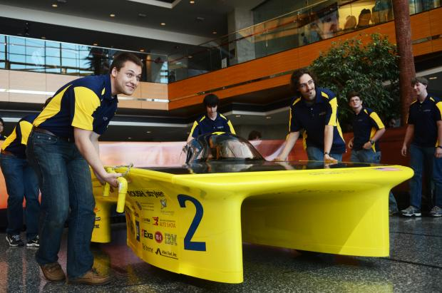 Ford Motor Company Sponsors University of Michigan 2013 Solar Car