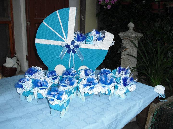 spesso Stefy's sweet creations!!!!: Le sweet bomboniere per il battesimo  RW44