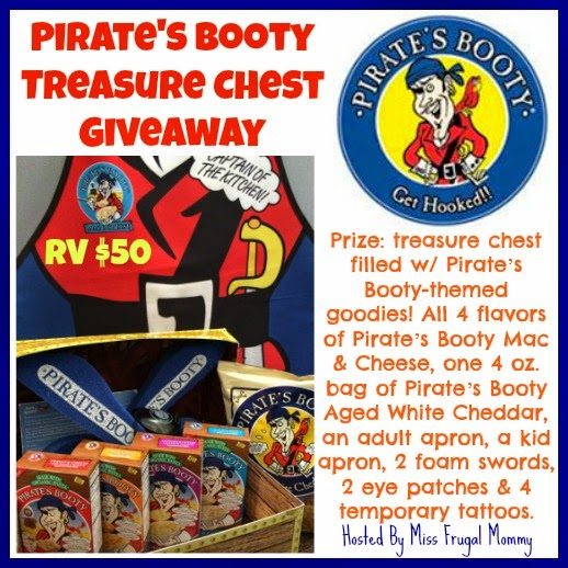 Pirate's Booty Treasure Chest Giveaway