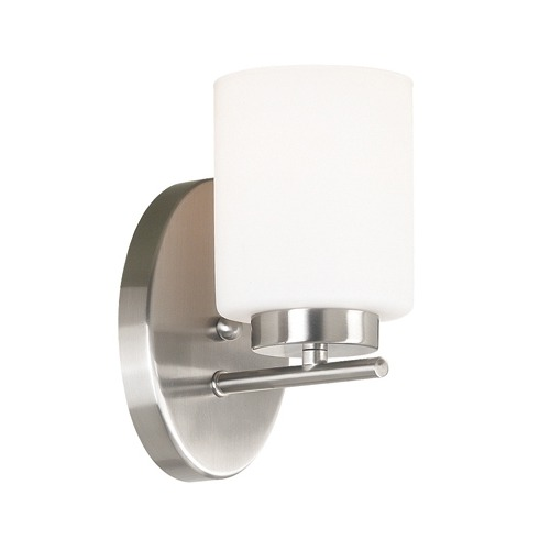 Modern Wall Sconce For Bathroom : Bathroom Sconces. Top Swing Arm Sconces On Vanity Mirror Bathroom With. Awesome Bathroom Optix ...