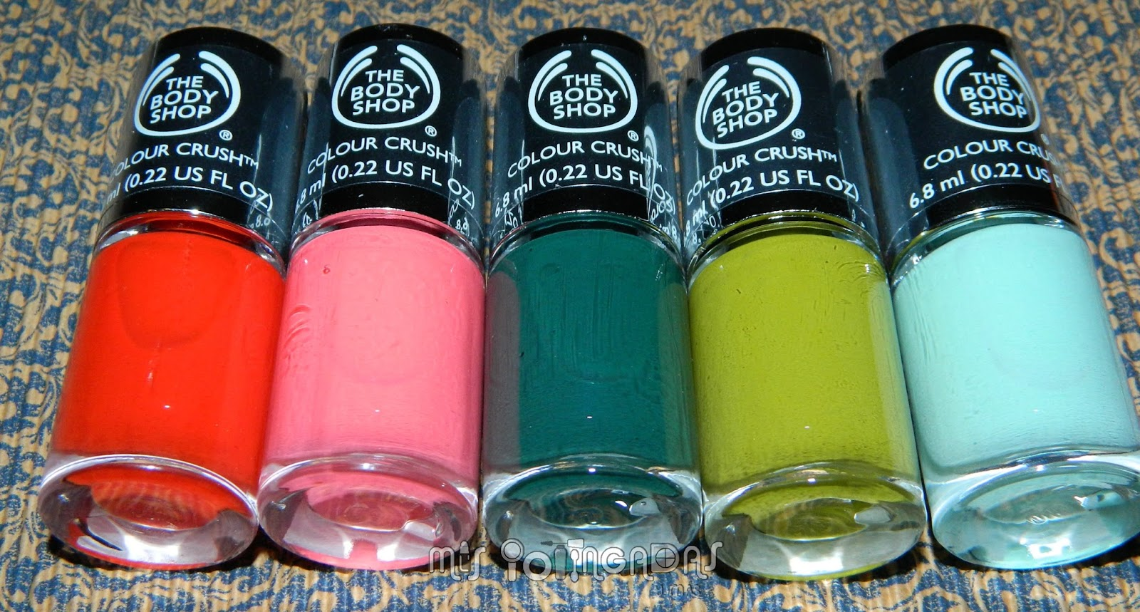 MIS POTINGADAS y más: Review | Nail hapiness! en The Body Shop