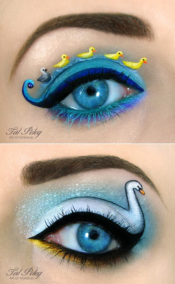 eye makeup illustrations