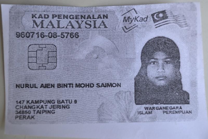 dibunuh pada 24 Februari lalu berdasarkan bedah siasat tidak dirogol