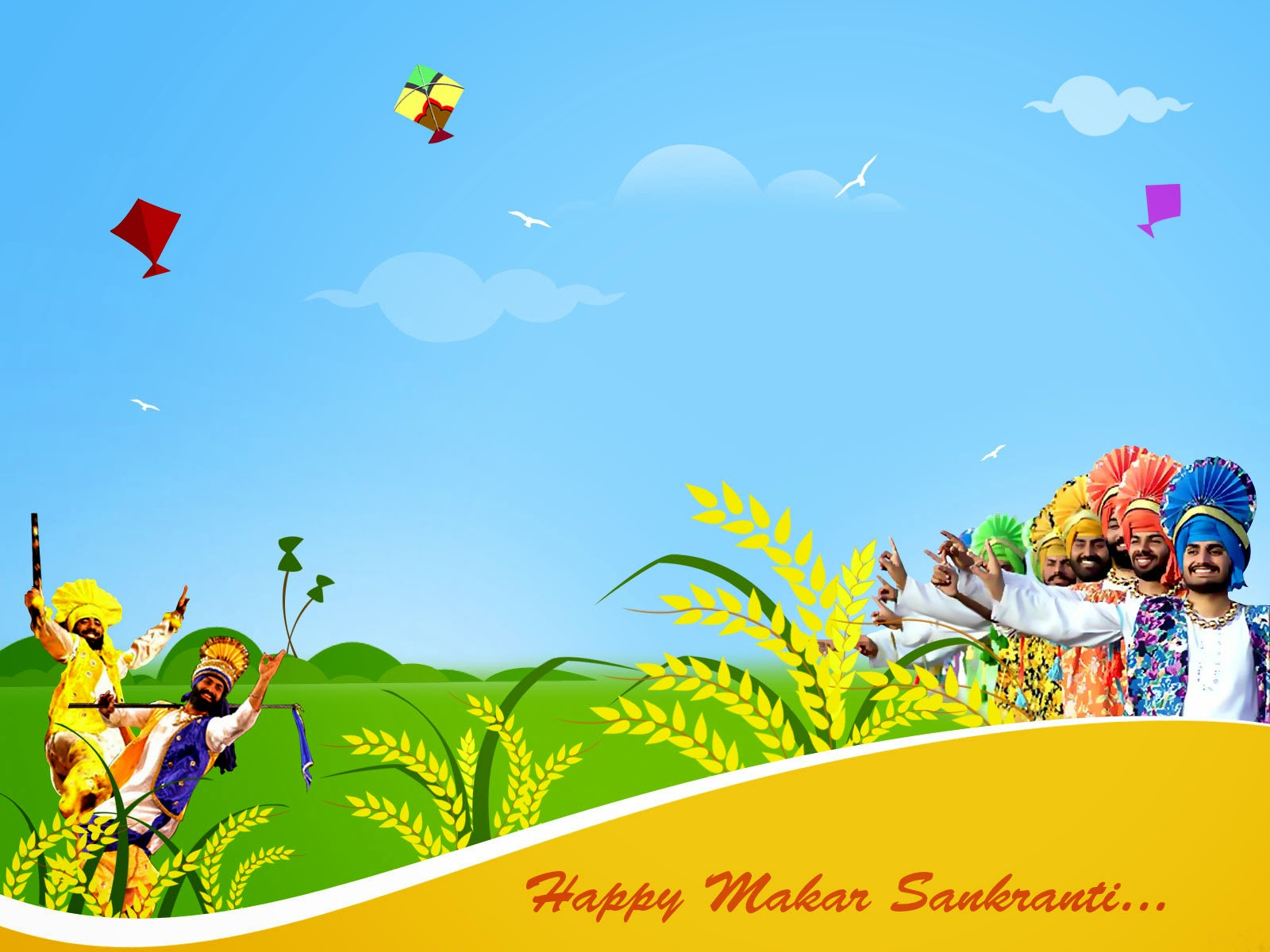 Holiday Makar Sankranti 2015 Celebration, SMS, Images,Wallpapers