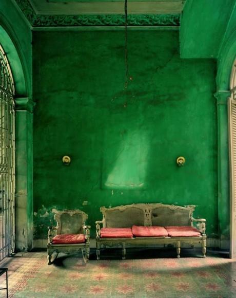 papier peint vert emeraude peinture antirouille. Black Bedroom Furniture Sets. Home Design Ideas