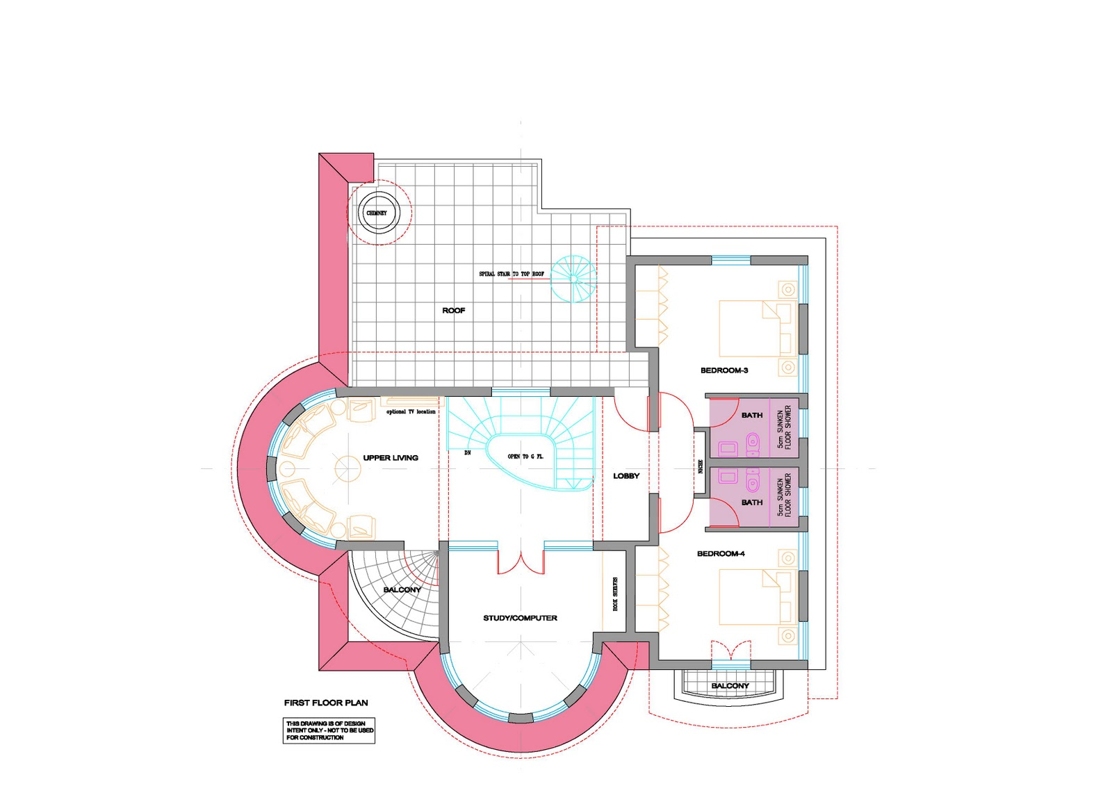 House Open Floor Plans Round Homes - Donkiz Real Estate