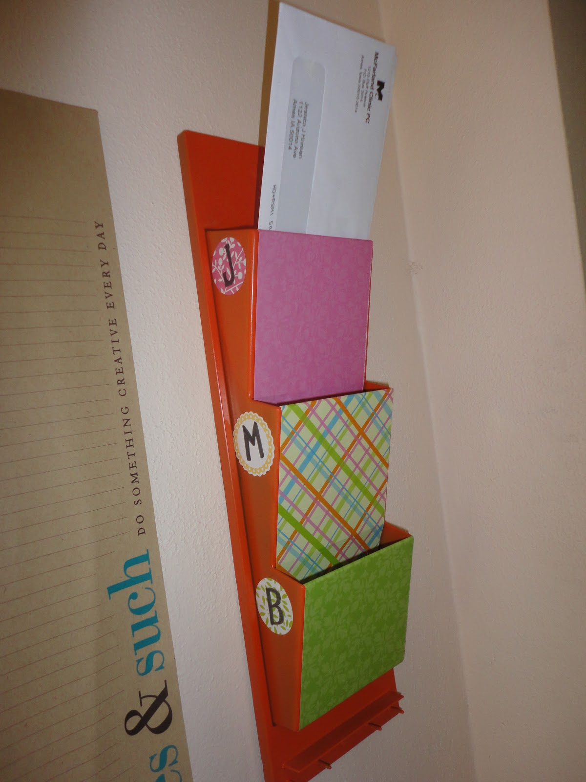 Mail Sorter Make Over Project