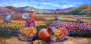 Cuadros Modernos Paisajes Peruanas Tradicionales