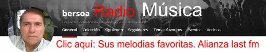 Sus melodías preferidas en Bersoa y la alianza con last fm