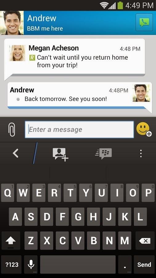 Aplikasi Android Blackberry Messenger (BBM) Versi Terbaru Asik - 5