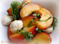 Peach Caprese Salad