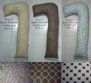 Bantal Hamil Full 7 Body Pillow Cozyland