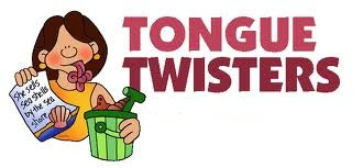 TONGUE TWISTERS , speaking fluent english  , speacking help , enhancing speaking ability