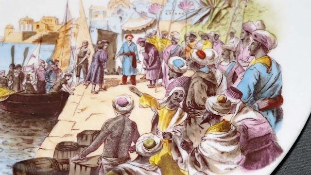 Chegada de Vasco da Gama na Índia