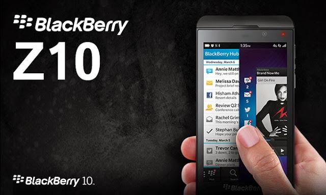 Spesifikasi Dan Harga Blackberry Z10 Terbaru