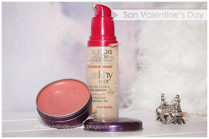 idea make up san valentino healty mix bourjois glow touch kiko