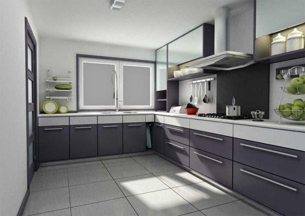 Gambar Kitchen Set Dapur Rumah Minimalis Modern