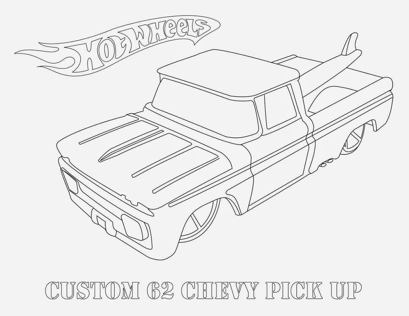 Hot Wheels Coloring Pages 45