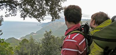 Excursión Esporles - Banyalbufar. Sierra de Tramuntana. Malllorca