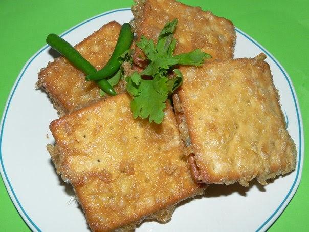 Resep Crackers Isi Rogout, resep crackers Tenggiri, cara membuat rogout crackers ikan Enak Mudah Dibuat