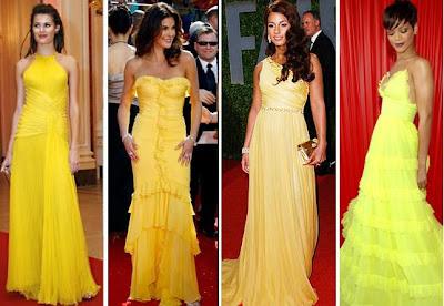 Vestidos de Amarelos