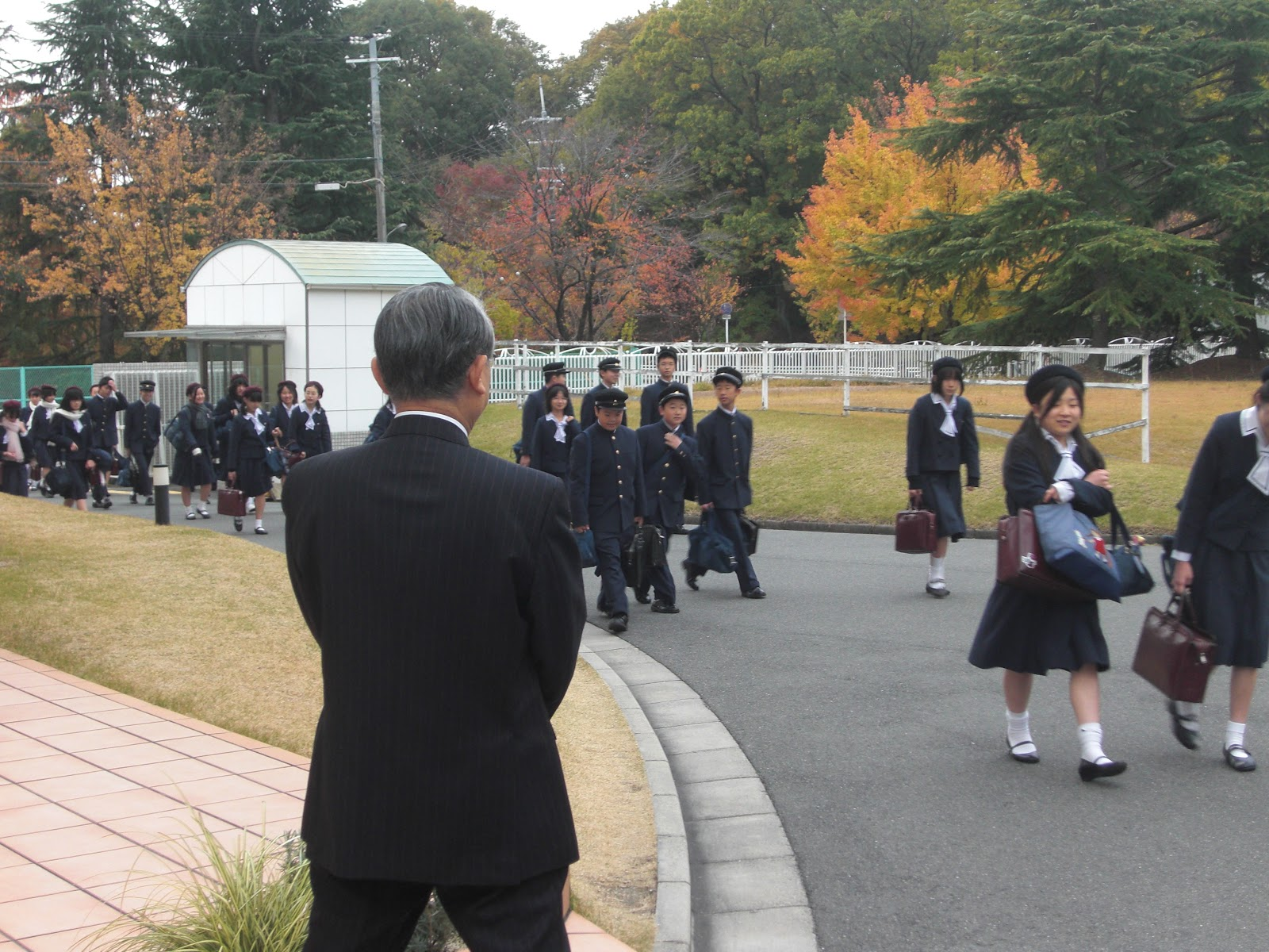 金蘭千里中学校ブログ: 朝の ...