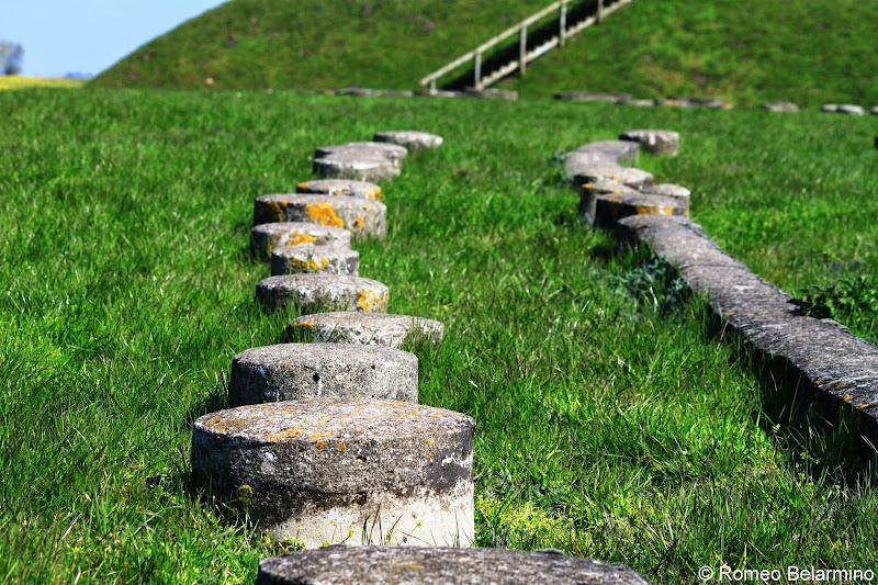 Trelleborg Viking Ring Fortress Post Holes Denmark
