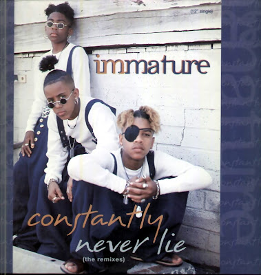 Cover Album of Immature - Constantly/Never Lie (The Remixes)-(CDM)-1994
