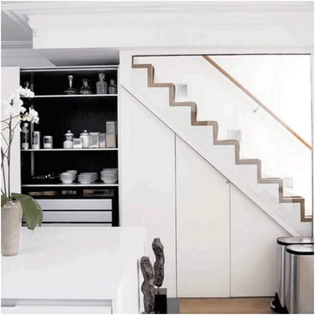 Ideas to use the space under the stairways