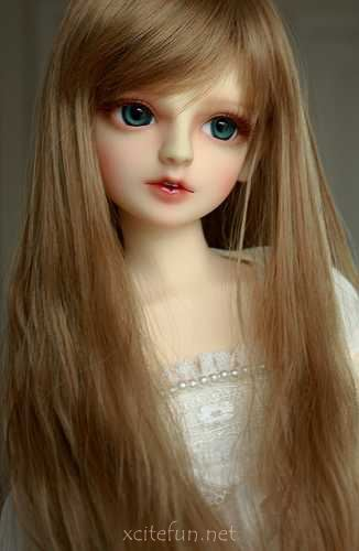 Cute Barbie Doll with Long Hair Photo