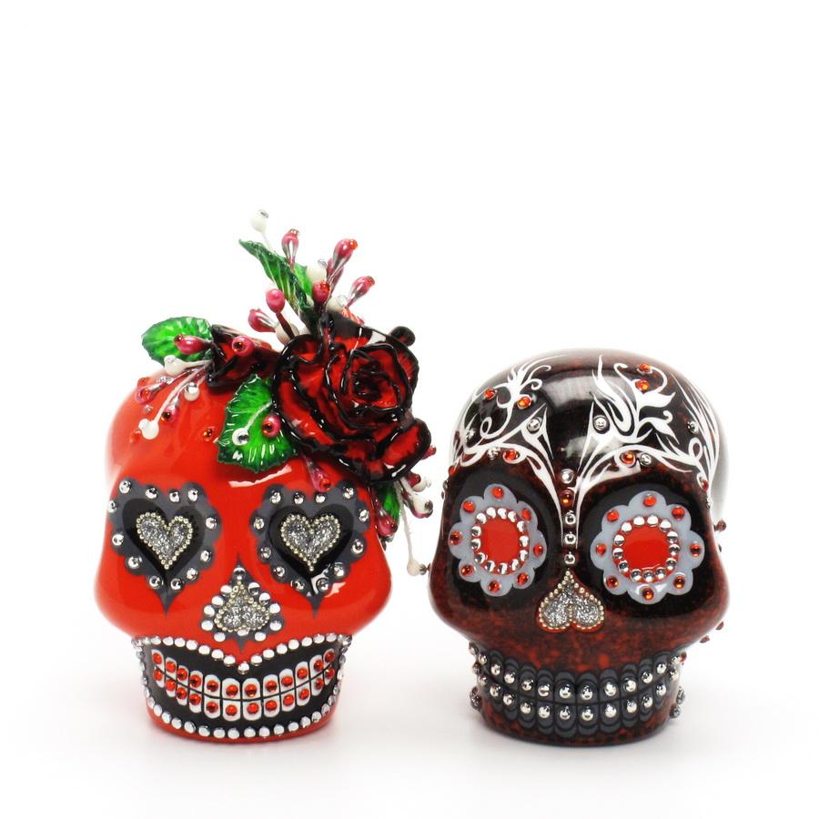 day of the dead skull lover dia de los muerto skull wedding cake