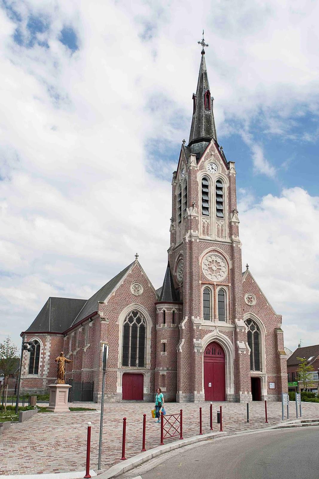 Eglise saint martin bousbecque 59 agence delannoy for Delannoy architecte