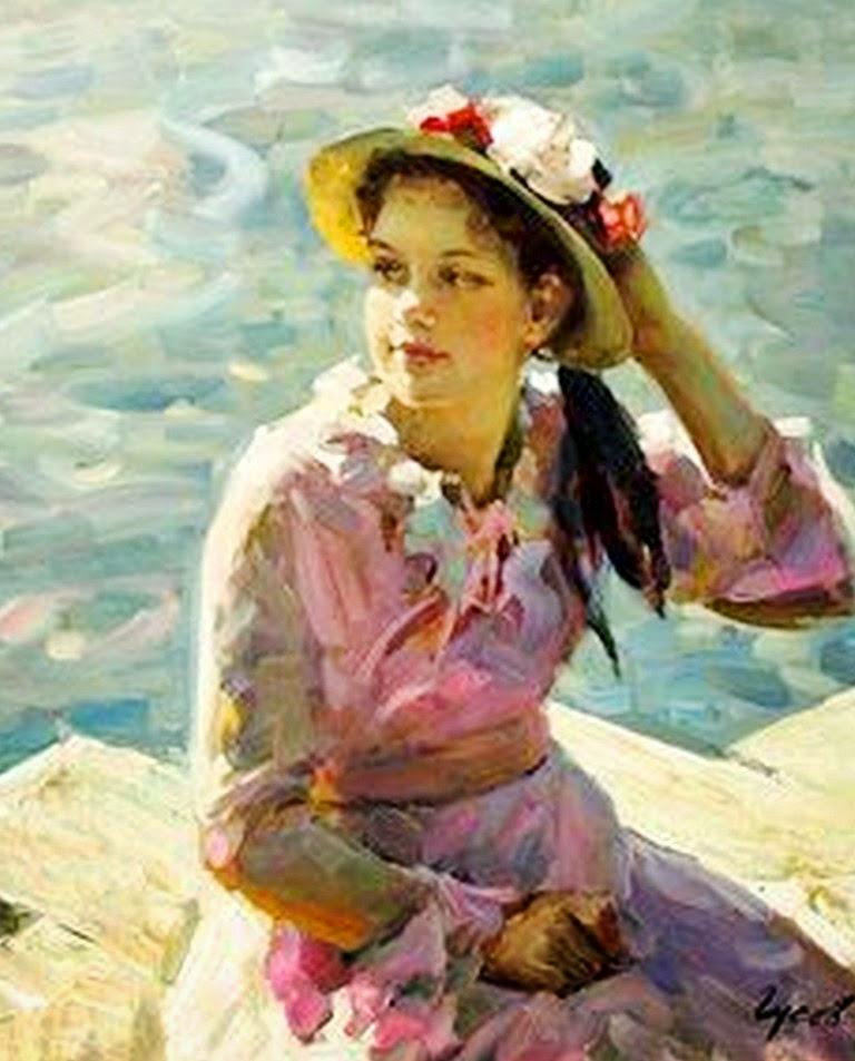 mujeres-en-pinturas-impresionistas-al-oleo