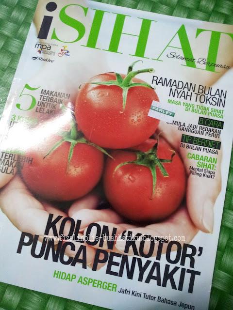 majalah isihat 2013, majalah keluaran julai 2013, majalah isihat julai 2013,