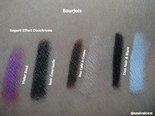 Bourjois Makeup on Swatches Makeup  Bourjois   L  Pis De Olhos