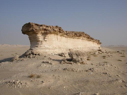 Yardang rock