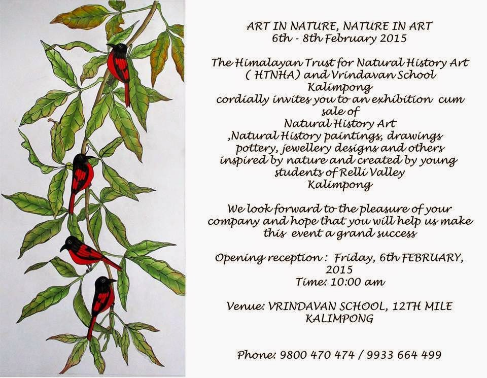 Art in Nature Exhibition cum Sell in Kalimpong