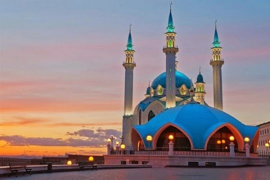 Tempat Wisata Peradaban Islam di Rusia Eropa