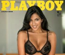 Gatas QB - Gaby Potência (Gaby Fontenelle) Playboy Brasil Abril 2014
