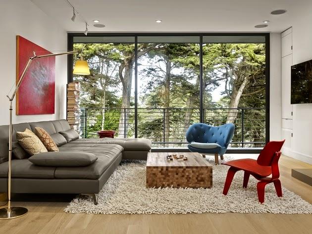 inspirasi desain rumah keluarga dua lantai rancangan