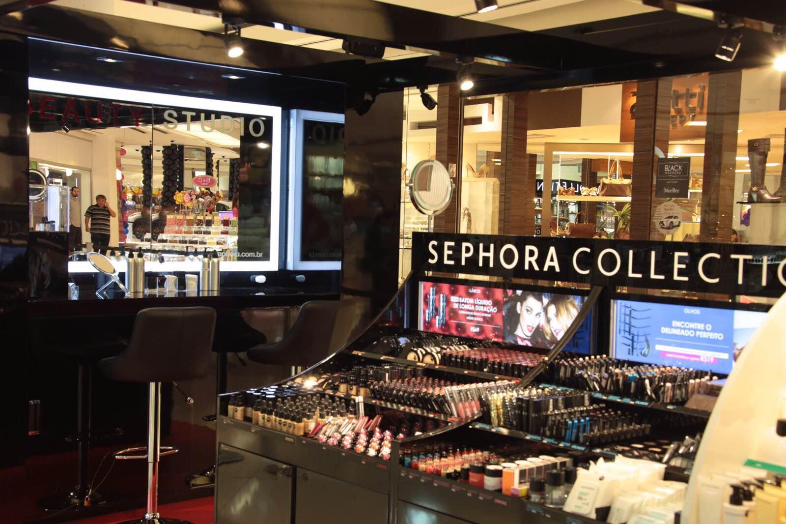 Sephora inaugura sua pop up store em Curitiba