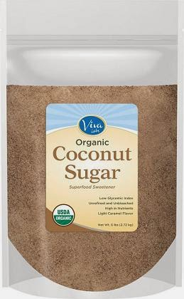 viva labs coconut  sugar