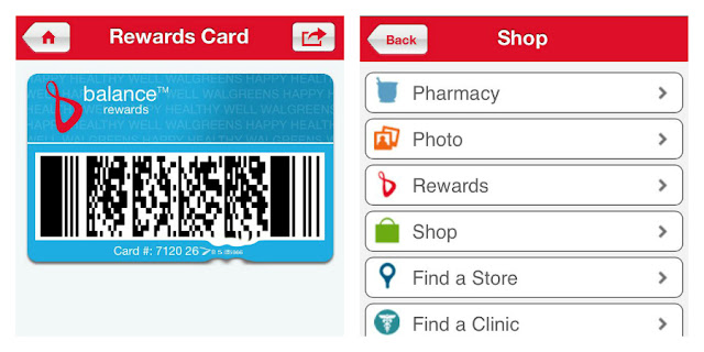 #BalanceRewards, Shopping using the Walgreens app