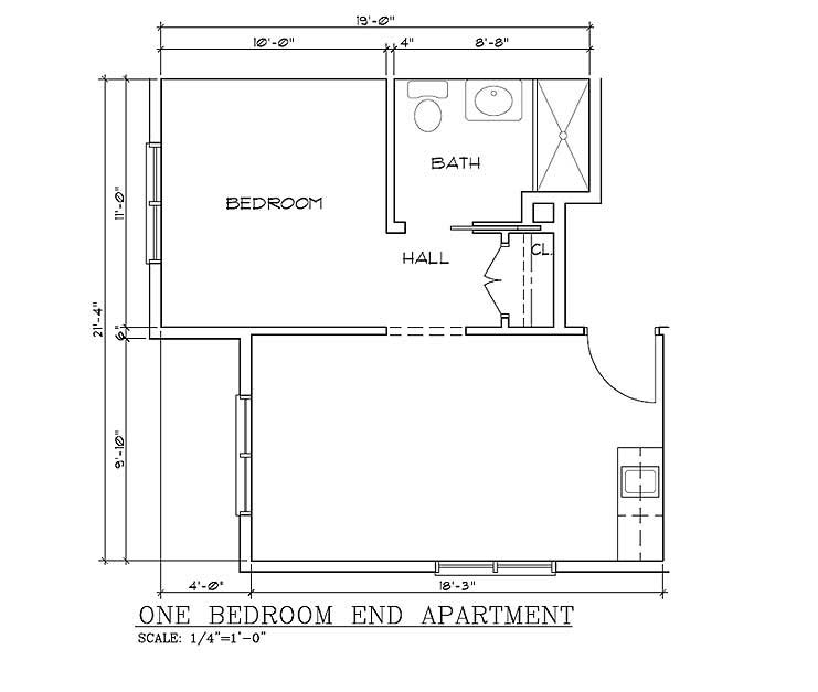 Bedroom ideas one bedroom cabin floor plans inspiration bedroom ideas - Www one bedroom cottage floor plans ...